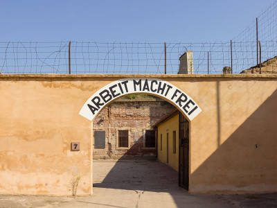 Concentration camp at Terezin (via wikipedia)
