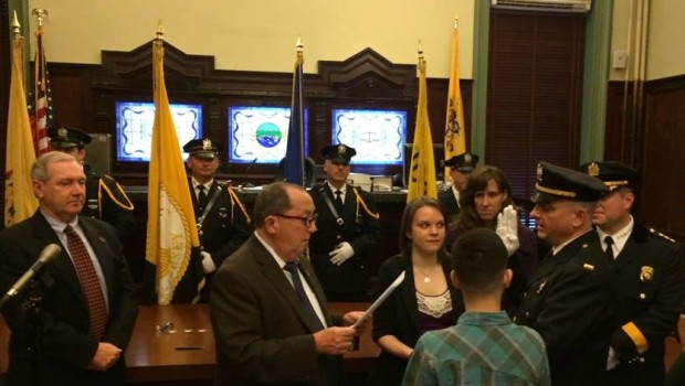 Hoboken Police Department Names New Captain, Lieutenants