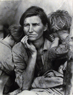 """Migrant Mother"" — Dorothea Lange"
