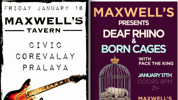 Busy Weekend of Live Music at Maxwell's