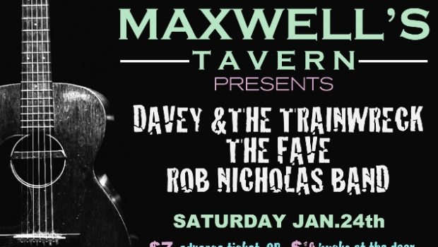 Hoboken Musicians to Reclaim the Stage at Maxwell's on Saturday