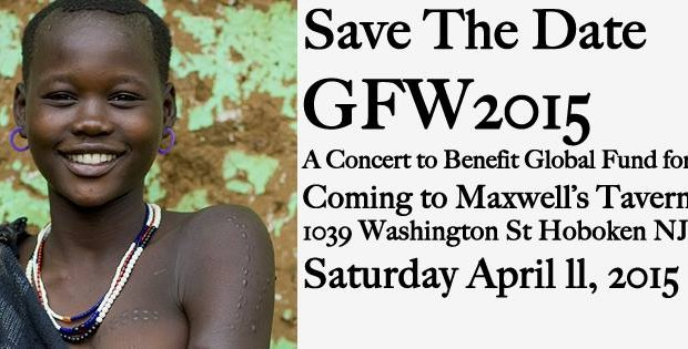 7th Annual Global Fund for Women Benefit @ Maxwell's — Saturday, April 11th