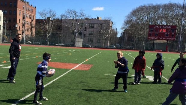 """Try Rugby"" — Free Hoboken Youth Rugby Clinic SUNDAY"