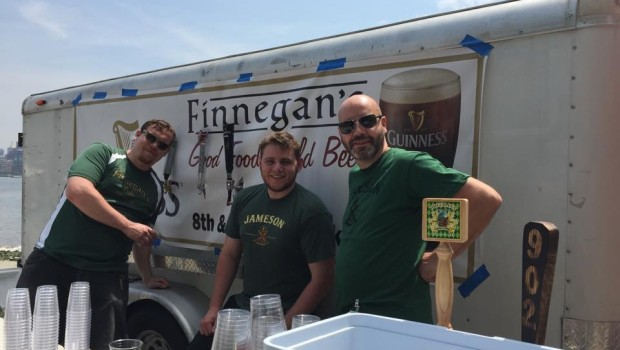 "Hoboken Puts the ""Adult"" Back in ""Adult Beverages"" with Expanded Beer Garden at Irish Festival"