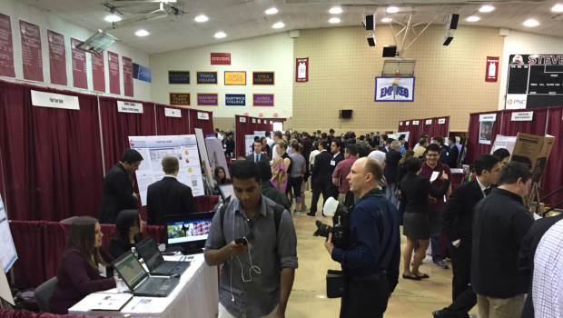 Stevens Innovation Expo 2015 Shines Spotlight on Trailblazing Technology