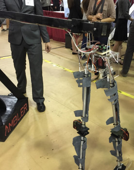The Ambler—a bi-pedal robotic device—has countless potential applications