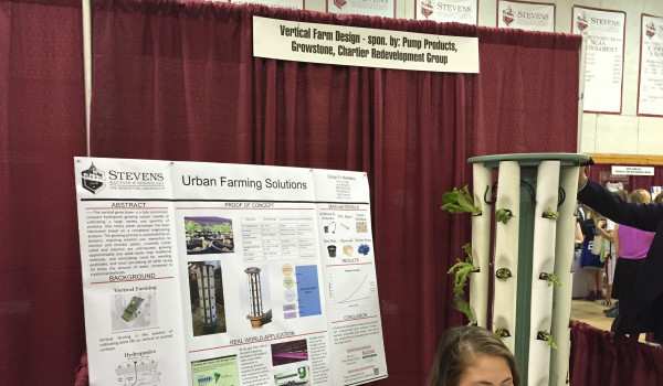 Vertical Farming is ideal for an urban environment like Hoboken