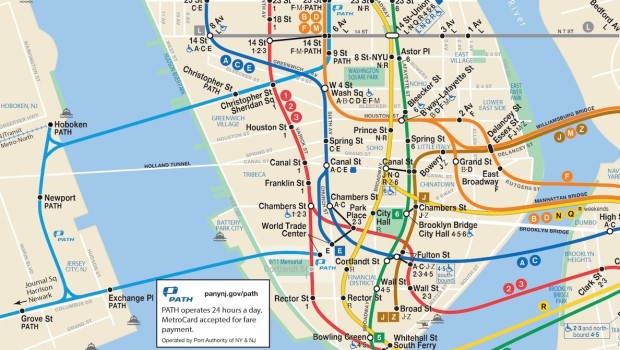 New York City Subway Map Brooklyn.Putting Hoboken On The Map Should Nyc Have To Publicly Acknowledge