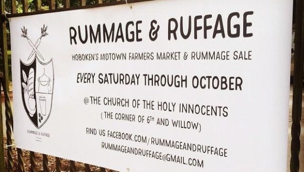 Rummage & Ruffage: Community Yard Sale/Farmers' Market; plus Yoga