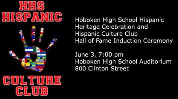 Hoboken High School Hispanic Culture Club — Hall of Fame Induction Ceremony