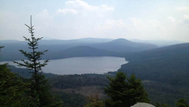 View from atop Brousseau Mountain