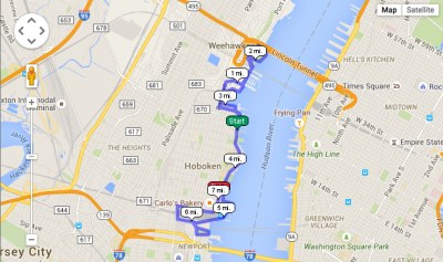 Route 3: Hoboken, Jersey City, Edgewater – Your Feet Have Crossed Borders