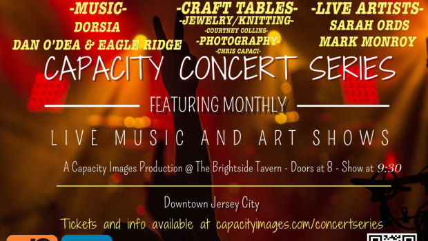 Capacity Concert Series @ The Brightside in JC