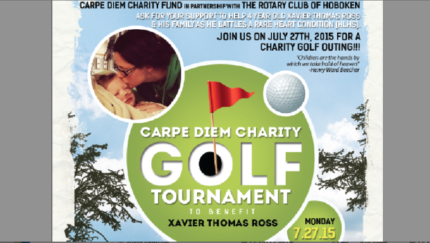 Golf Outing for Xavier Thomas Ross, hosted by Carpe Diem and Hoboken Rotary — Monday, July 27
