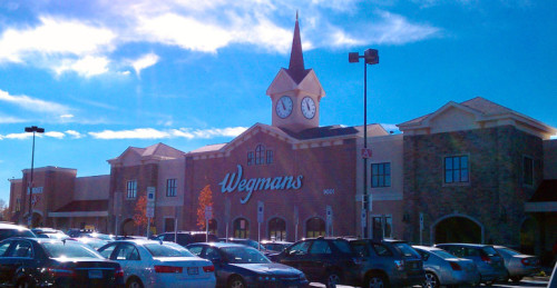 Wegmans - like Disney World, with fresh produce...