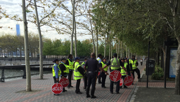 STOP. COLLABORATE. LISTEN. — Hoboken Crossing Guards Meet Up for Training