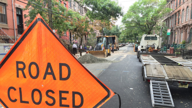 UPDATED: Hoboken Water Main Break — Garden b/t 12th & 13th