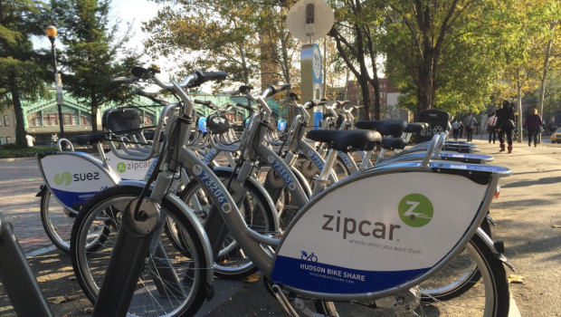 Hoboken's Hudson Bike Share Ready to Roll
