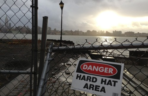 SANDY IN HOBOKEN: A Look Back at the Mile Square City's Superstorm