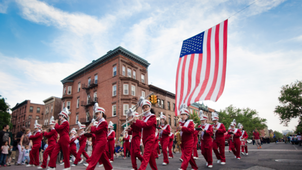 HOBOKEN MEMORIAL DAY PARADE 2017: Grand Marshal Joe Mindak Leads the Festivities — WEDNESDAY, MAY 24th
