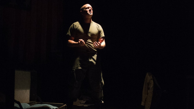 """The American Soldier"" — Hoboken Actor Douglas Taurel Salutes Veterans with Powerful Solo Show"