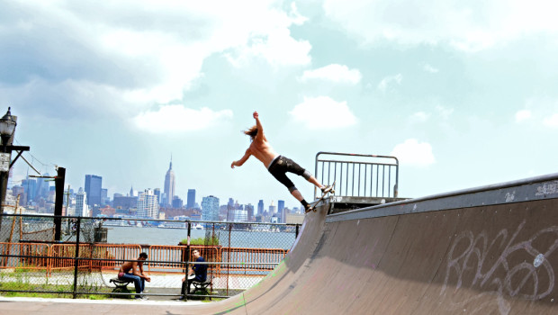 CASTLE POINT SKATEPARK — Urban Grind, with a View