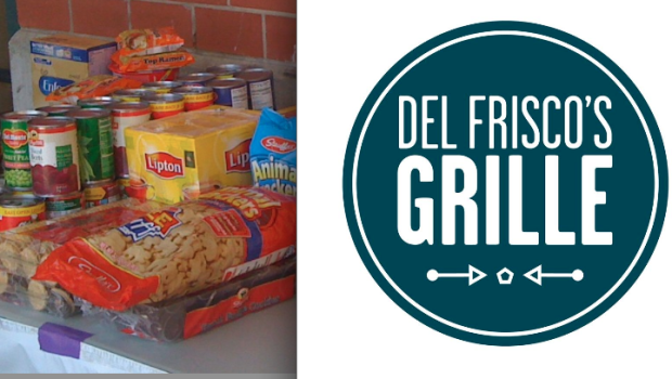 Del Frisco's Grille Hoboken Challenges Local Schools to Food Drive Competition