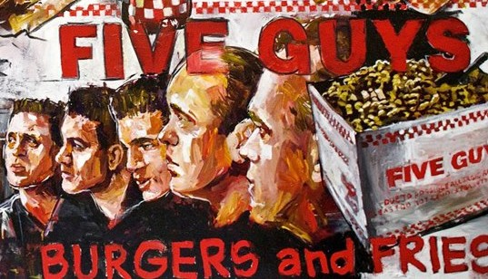 So Long, Five Guys…