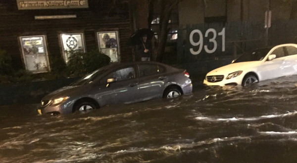 HOLIDAY HOBOKEN FLOODING: Last-Minute Shoppers Get Sewage in Their Stocking