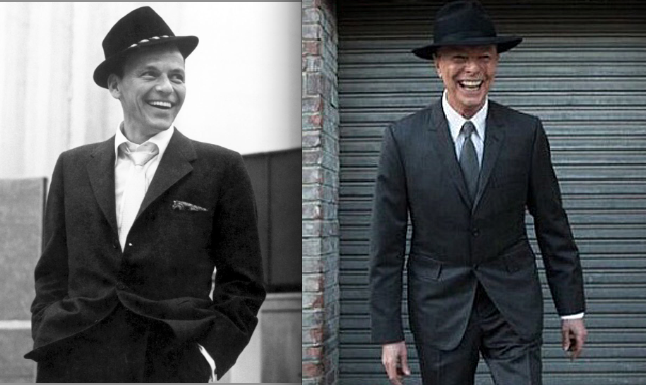 David bowie and frank sinatra