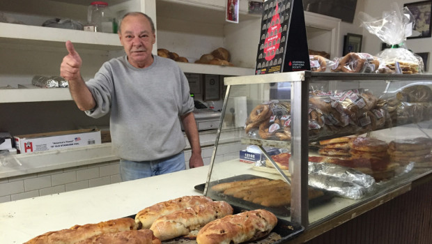 LENT FOR LUNCH: Dom's Bakery Grand – Focaccia
