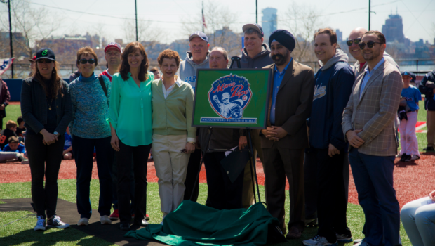 PLAY BALL: Baseball Trailblazer Maria Pepe Honored by Hoboken Little League