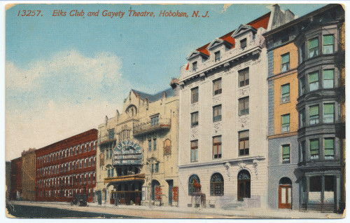 The Gayety, at 1013-19 Washington (now the Hoboken Elks)