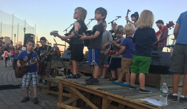 WE'RE WITH THE BAND: Guitar Bar All-Stars Seek World-Record Play-Along — THURSDAY @ Sinatra Park