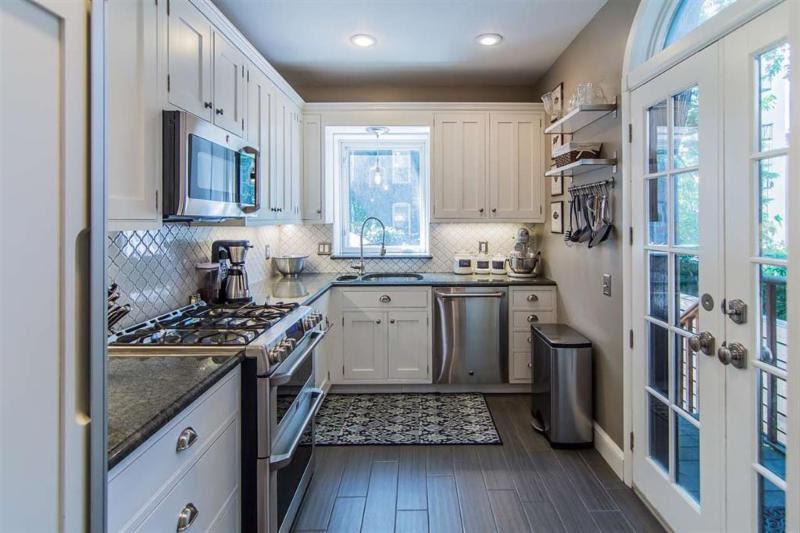 Older Homes In The Northeast US: Renovated Kitchen Hoboken
