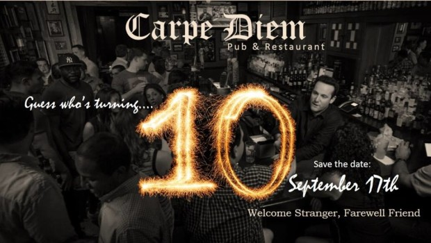 SEIZE THE DECADE: Carpe Diem Hoboken Celebrates Ten Years