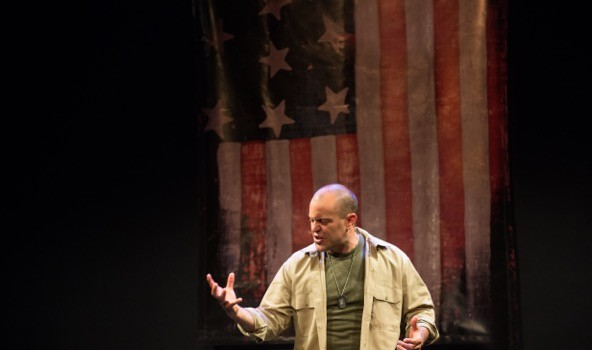 "COMING HOME: Actor Douglas Taurel Brings Veterans' Stories to Life in ""The American Soldier"" — Sept. 9-11 at The Mile Square Theatre"