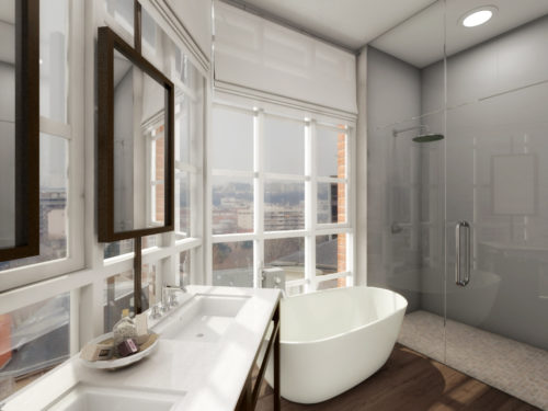 High end hoboken luxury real estate on 39 the gold coast for High end master bathrooms