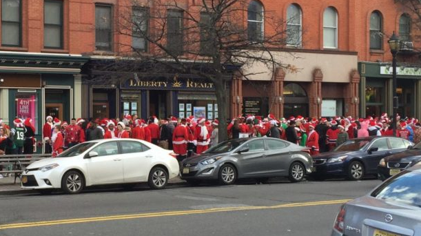 SO DARK, THE SANTACON OF MAN: Hoboken SantaCon Set to Lay Siege to the City — Saturday, December 16
