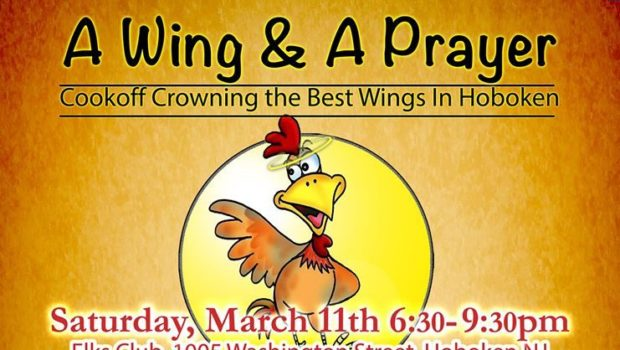 A WING & A PRAYER 2017: Annual Chicken Wing Showdown for St. Francis Church — SATURDAY, MARCH 11th