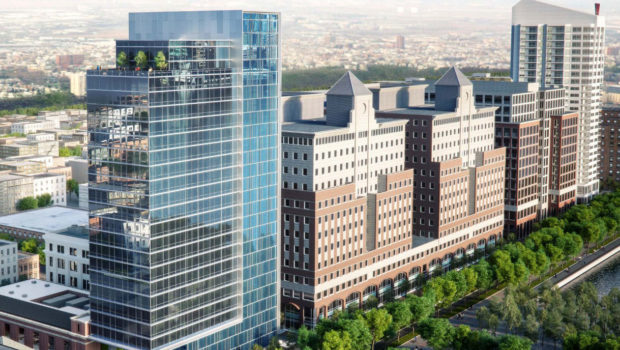 HOBOKEN HILTON: City Moves Ahead on Plans for Post Office Redevelopment; Includes New Waterfront Hotel