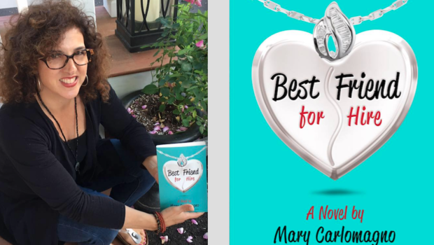 BEST FRIEND FOR HIRE: Best-Selling Author Mary Carlomagno Returns to Hoboken to Showcase Her New Novel—TUESDAY @ Maxwell's