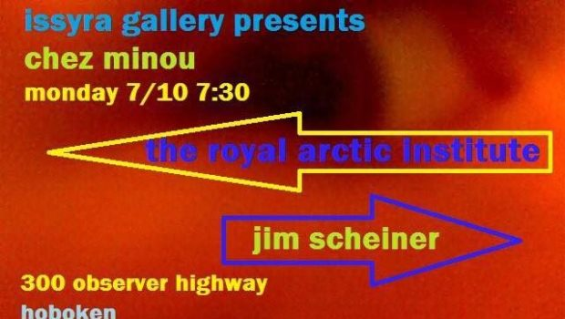 LIVE MUSIC: The Royal Arctic Institute and Jim Scheiner — TONIGHT @ Issyra Gallery, Neumann Leathers Building