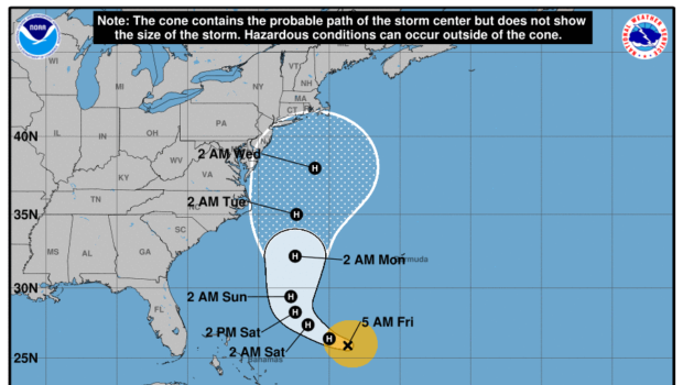 JOSÉ IT AIN'T SO: Storm Has Potential to Hit the Northeast