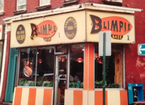 The original Blimpie—on the corner of 7th & Washington Streets in Hoboken. (via Facebook)