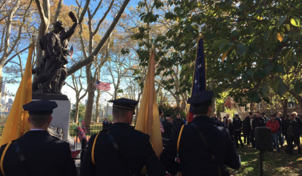 HOBOKEN VETERANS' DAY CEREMONY