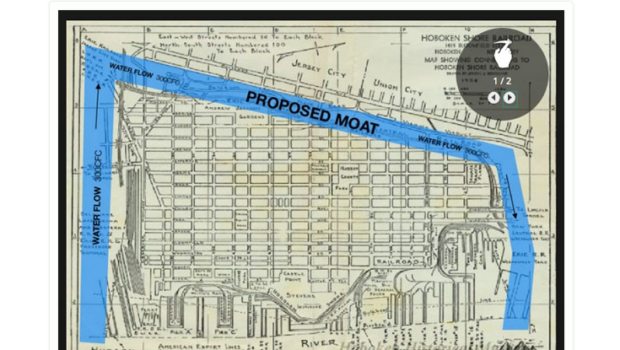 Hoboken Unveils Plans for Moat