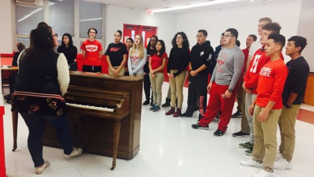 Disney Singalong Fundraiser at Hoboken High School — FRIDAY