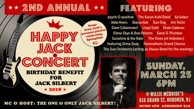 HAPPY JACK CONCERT: 2nd Annual Birthday Bash Benefit for the One and Only Jack Silbert