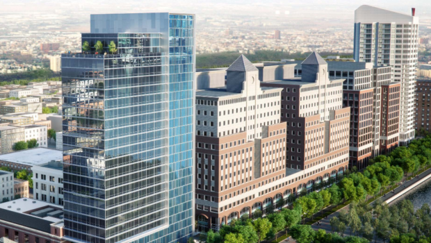 HOBOKEN HILTON: Waterfront Hotel Near Train Station Back On Track
